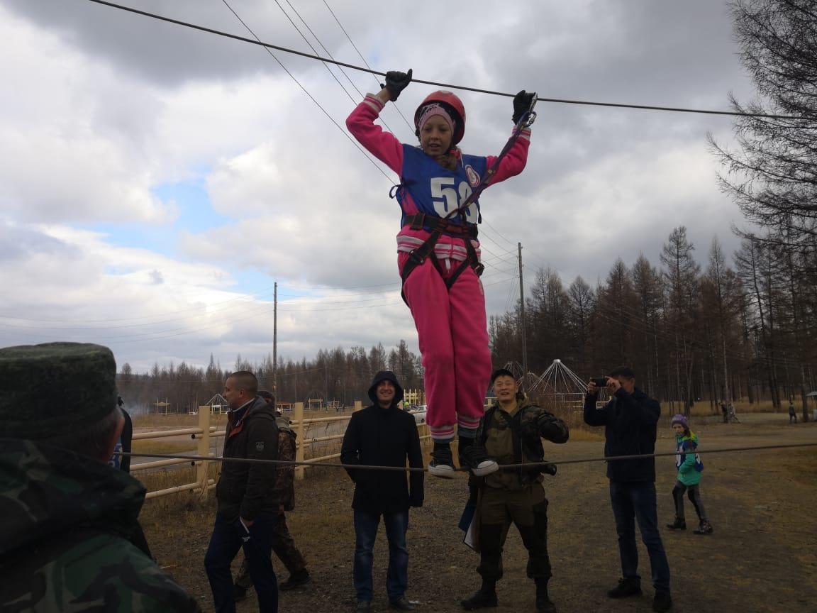 В Нерюнгри прошли соревнования «Тропа «Боевого братства»