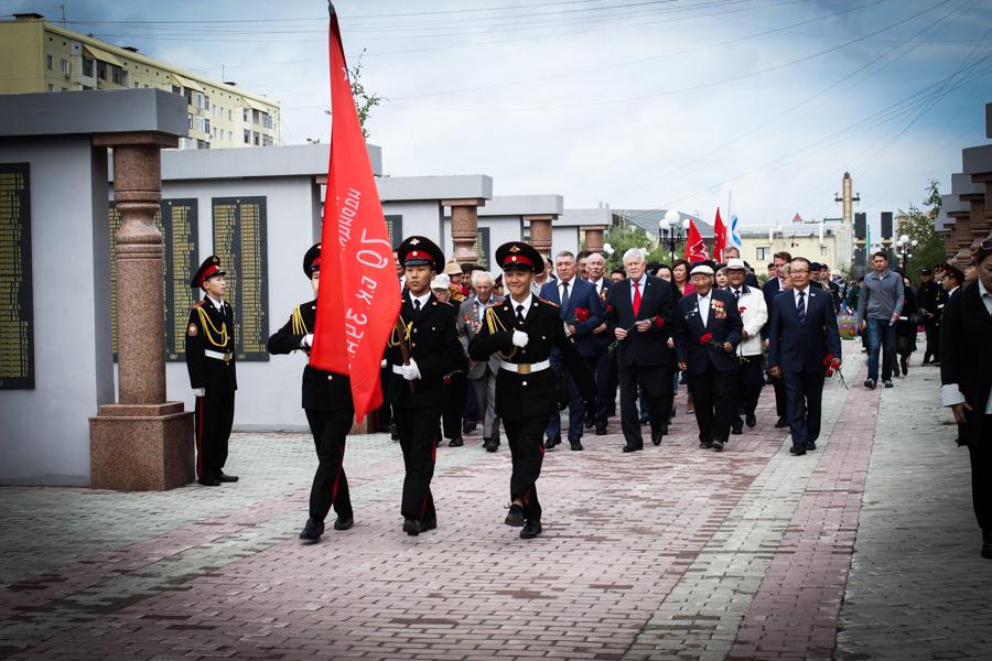 В Якутске отметили 73-ю годовщину окончания Второй мировой войны