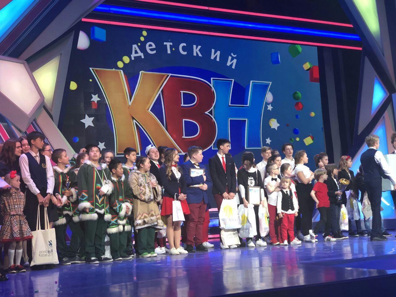 Команда «Крайне Северные» примет участие в международном фестивале детского КВН