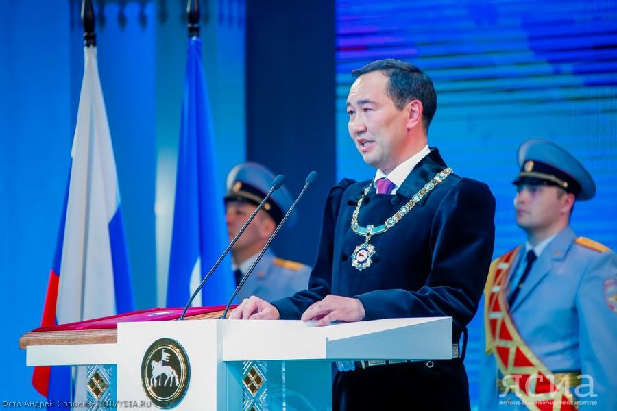 Первым указом Айсена Николаева станет указ об экологическом благополучии Якутии