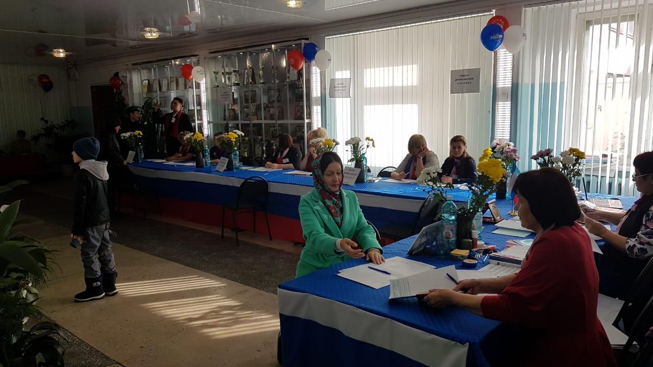 В Нерюнгринском районе проголосовали более двух тысяч человек