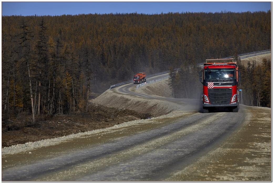 АЛРОСА закончила строительство дороги к Верхне-Мунскому месторождению