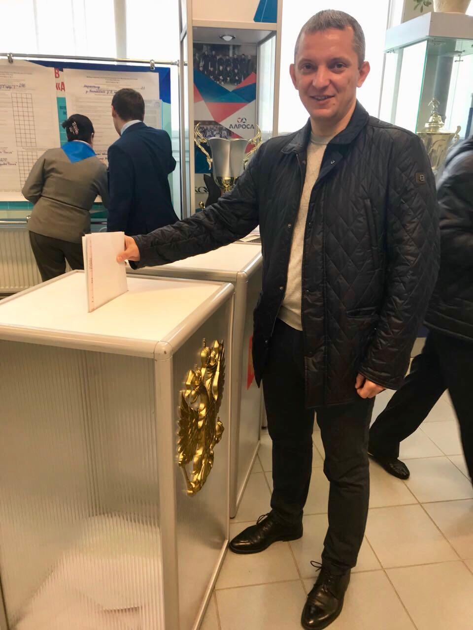 Сергей Андреевский призвал проголосовать за кандидата, которому доверяешь