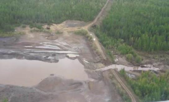 Минэкологии Якутии продолжает мониторинг на реке Вилюй