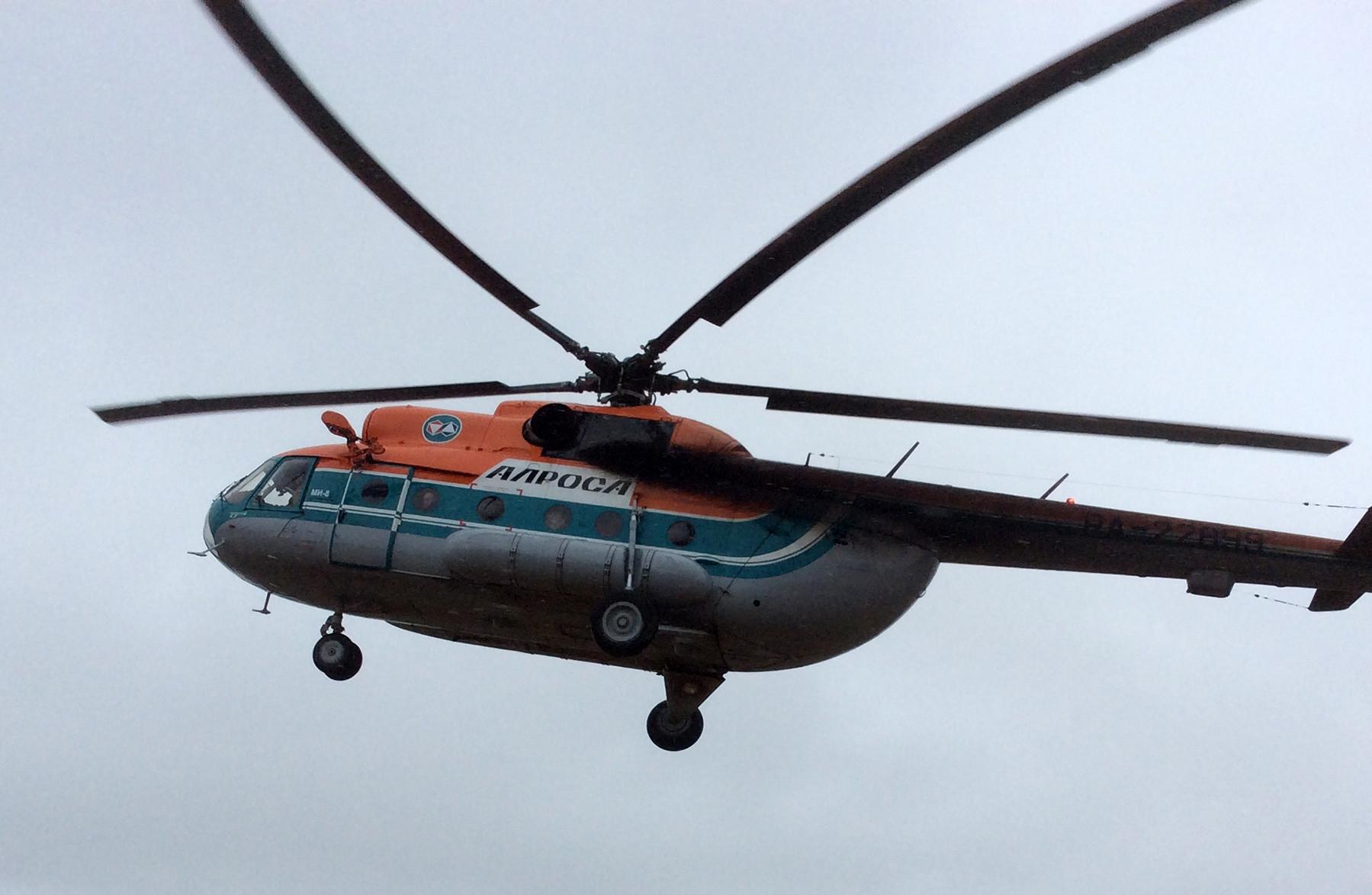 """На поиски людей, пропавших в Анабаре, вылетит вертолёт """"Алмазов Анабара"""""""