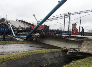Стала известна предварительная причина обрушения моста в Свободном