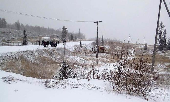 9 человек пострадали в ДТП возле поселка Верхний Бестях