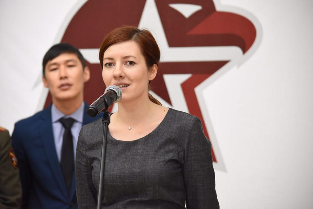 На патриотический слет Юнармии в Якутске приехала олимпийская чемпионка