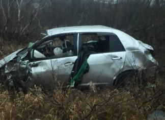 В Алданском районе в результате ДТП погибли два человека