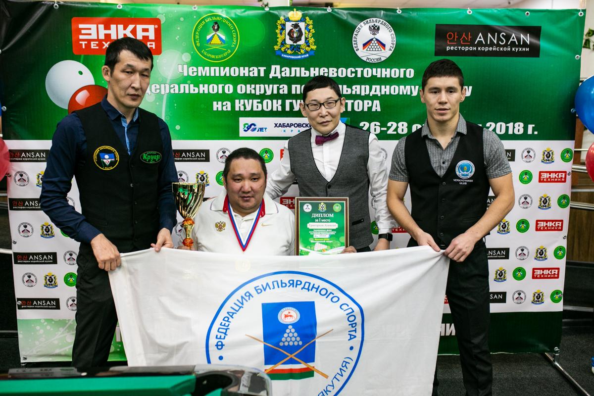 Алексей Григорьев стал чемпион ДФО по комбинированной пирамиде среди спортсменов с ПОДА