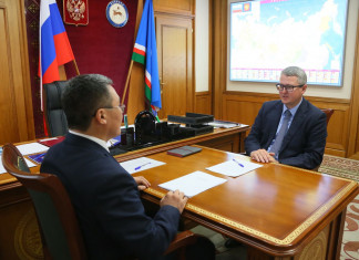 Состоялась рабочая встреча и.о. председателя правительства и спикера парламента Якутии