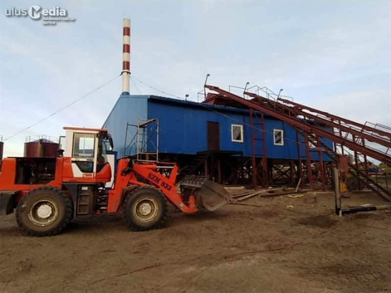 В селе Хайыр Усть-Янского района новая котельная будет запущена в 2019 году