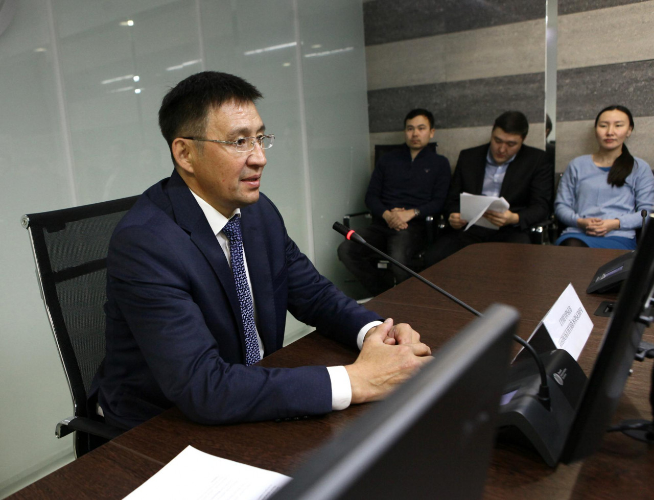 Новый министр спорта приступил к своим обязанностям