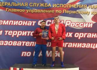 Якутянин взял бронзу на чемпионате России по боевому самбо среди сотрудников ФСИН