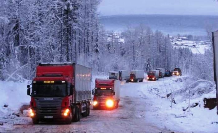 Завов продовольствия в отдалённые районы Якутии завершен