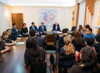 Новый руководитель представлен коллективу Минкультуры Якутии