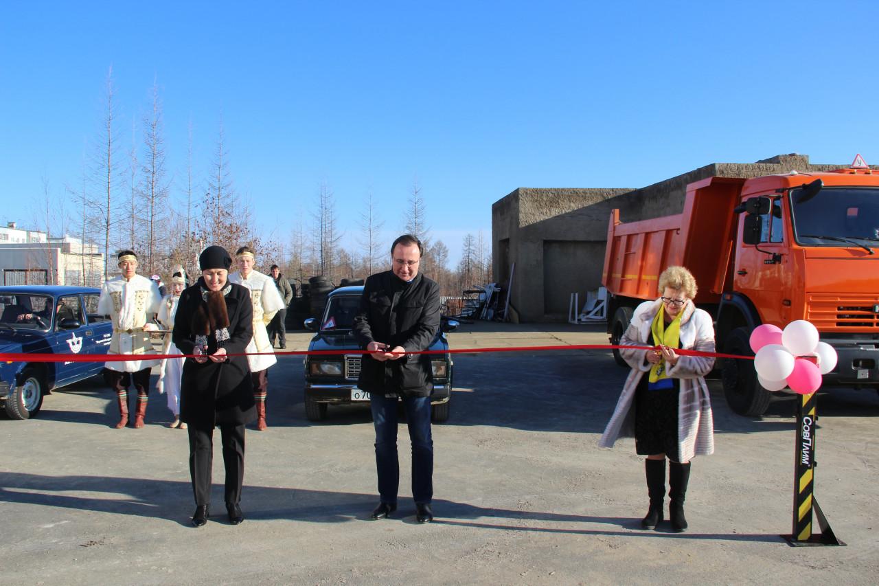 В Светлинском техникуме открылся автодром