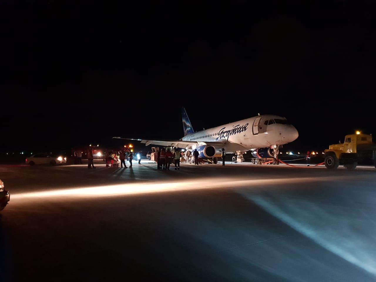 """Аэропорт """"Якутск"""" возобновил прием воздушных судов"""