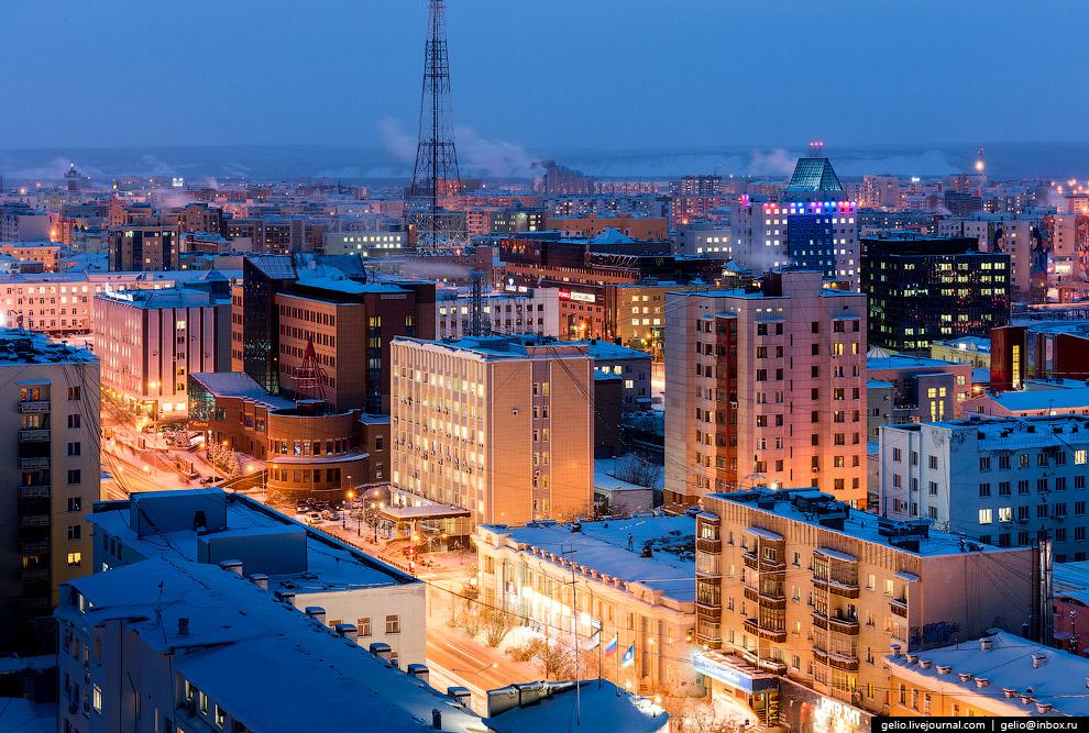 В Якутске в этом году установили более 100 опор освещения и 120 светильников