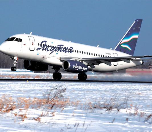 """Самолет авиакомпании """"Якутия"""" вынужденно приземлился в Сыктывкаре из-за самочувствия пассажира"""