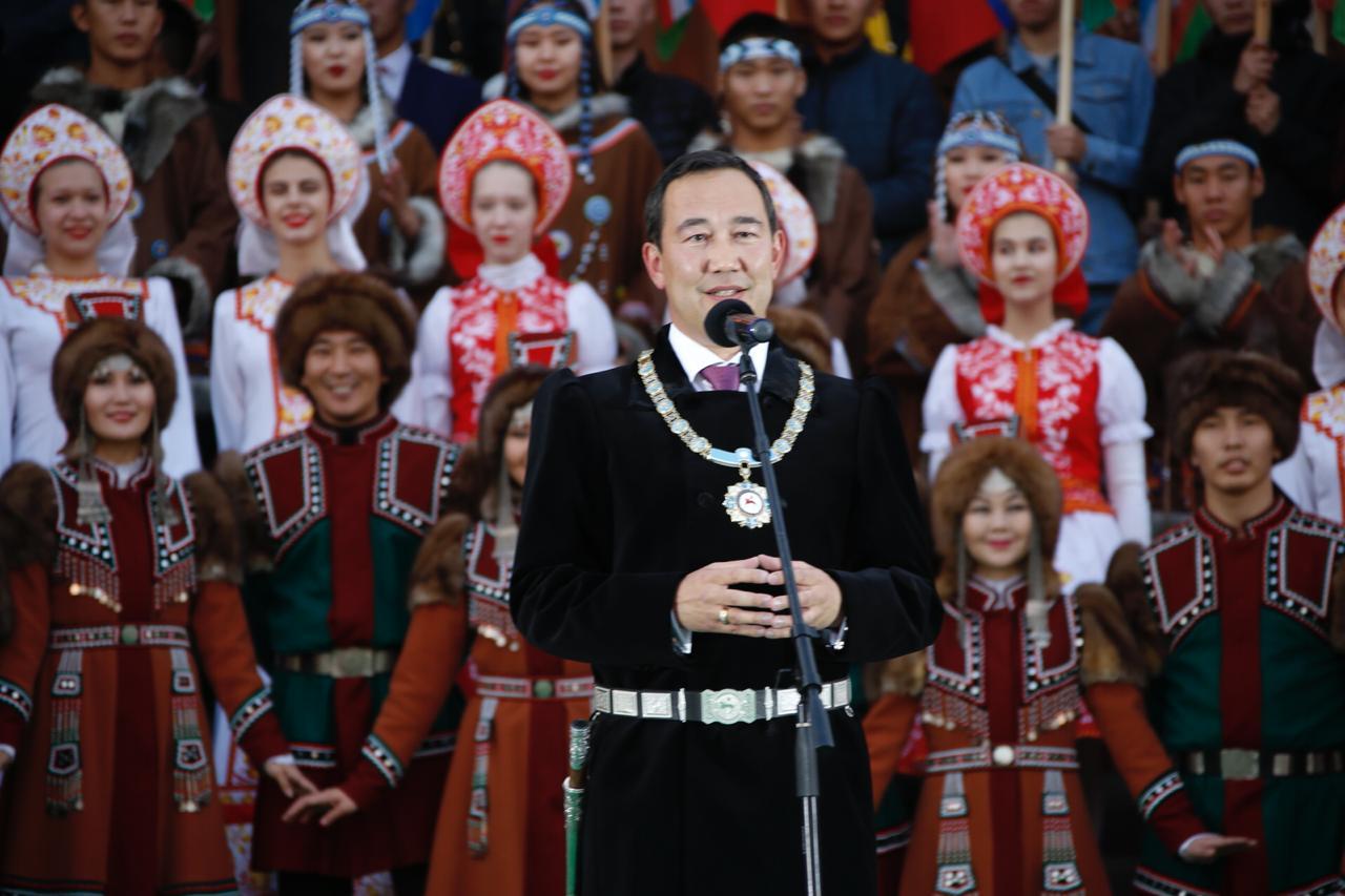 Айсен Николаев рассказал, что чувствовал во время инаугурации