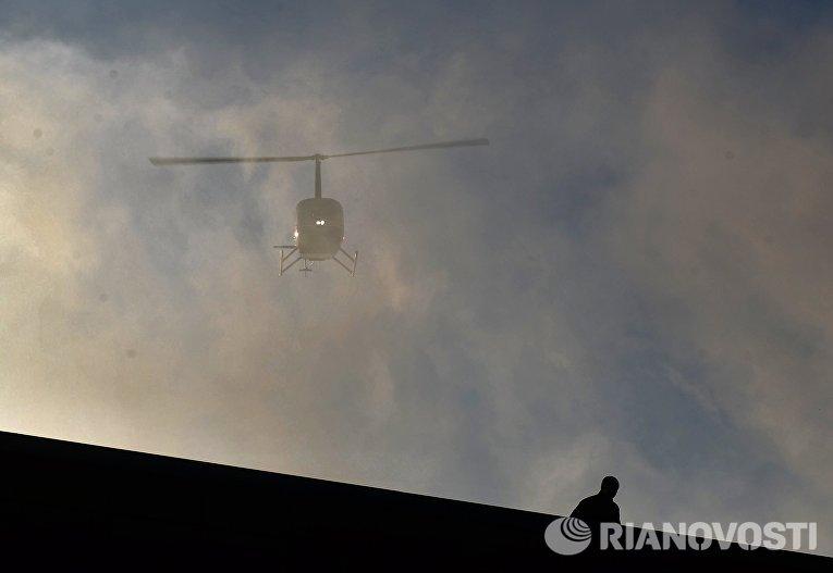 В Иркутской области потерпел крушение вертолет Robinson