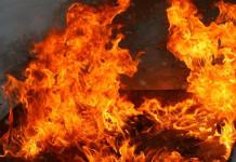 В Якутске произошли пожары в частном секторе