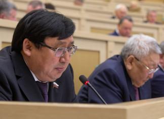 Александр Акимов поднял вопросы районирования Севера в Совете Федерации