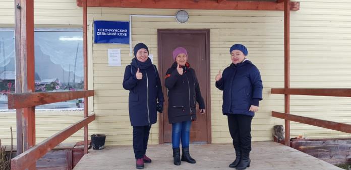 В клубе села Хоточчу завершается долгожданный ремонт