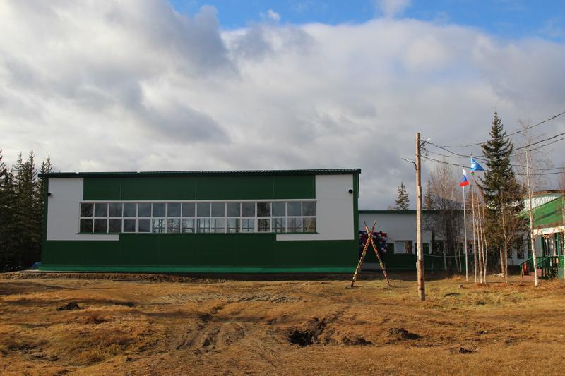 В Сюльдюкаре открыт новый спортзал