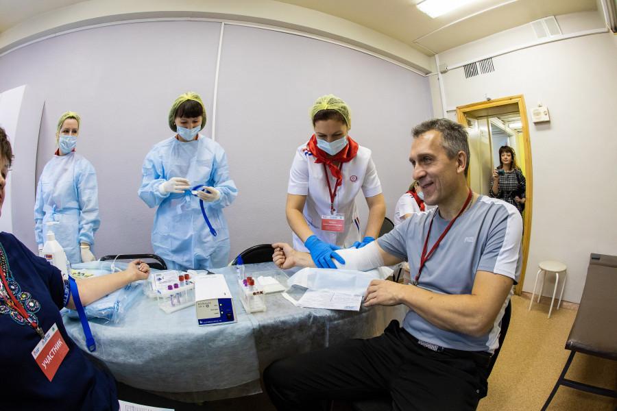 Первый марафон доноров стартовал на Нерюнгринской ГРЭС