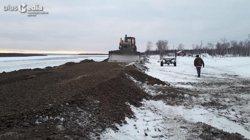 В селе Кескил Томпонского улуса завершены берегоукрепительные работы