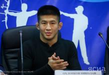 Бронзового призера чемпионата мира по вольной борьбе Николая Охлопкова поздравили с победой