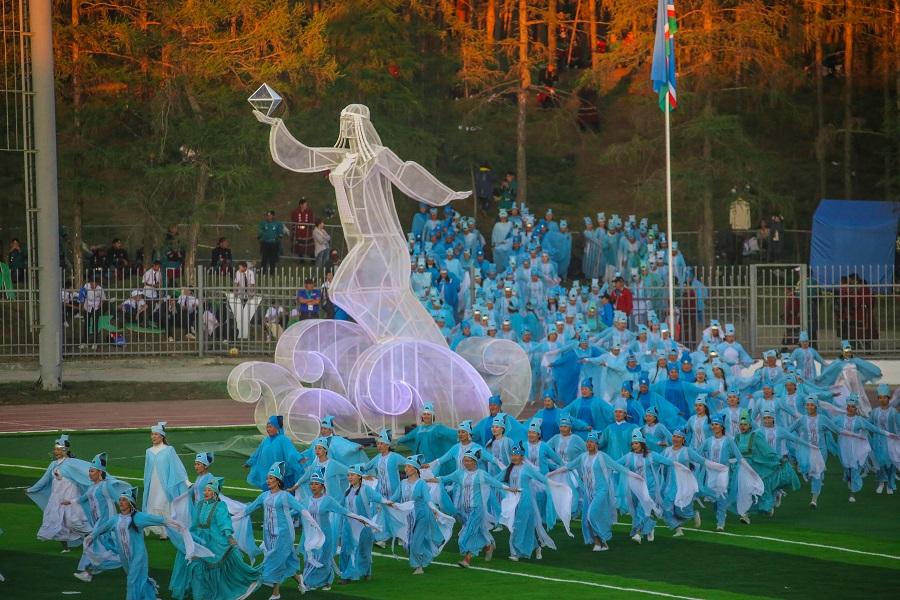 Церемонию открытия ХХ Игр Манчаары признали лучшим зрелищем в России
