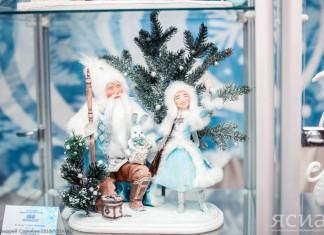 «Бал снежной долины»: в Якутске открылась выставка авторских кукол