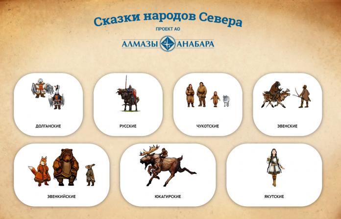 Сказки на семи языках народов Севера бесплатно доступны в сети Интернет