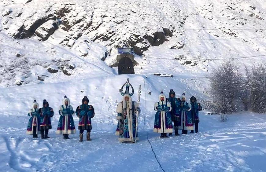 На Полюсе холода официально наступила зима