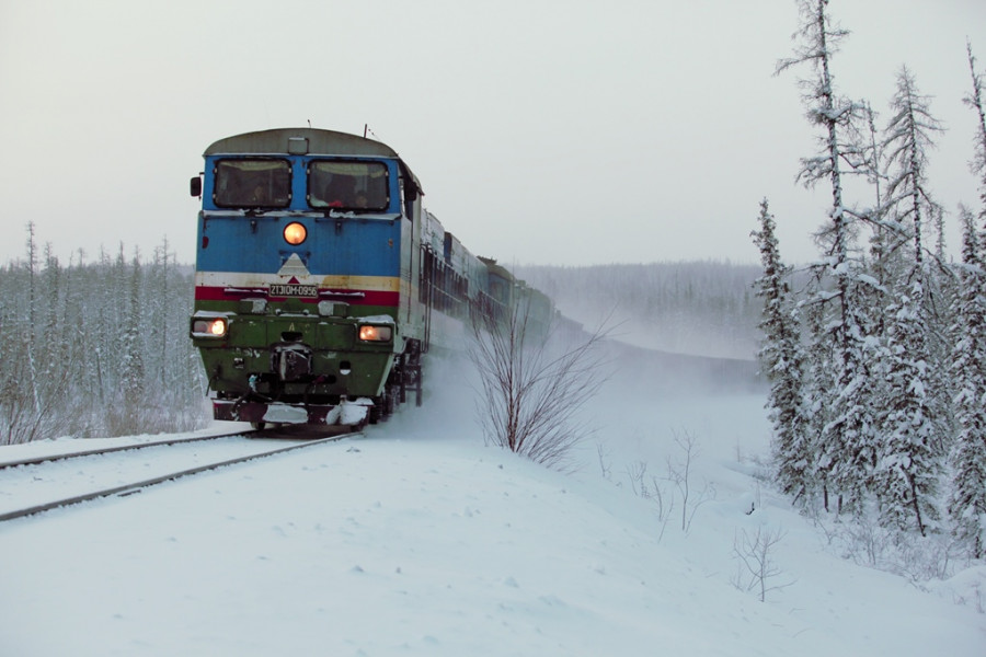 По железной дороге Беркакит-Томмотперевезено более 4,5 млн тонн грузов