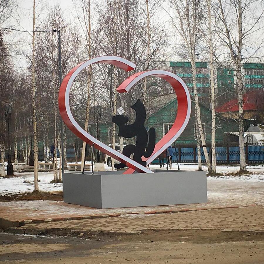 В Ленске появились две новые достопримечательности