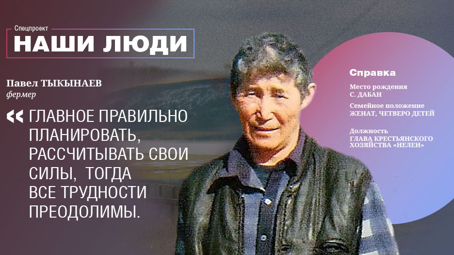 Наши люди: Фермер Павел Тыкынаев