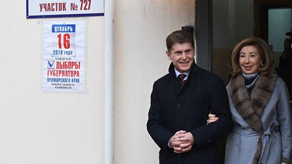Кожемяко победил на повторных выборах главы Приморья
