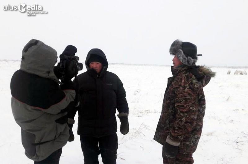 Жители села Усун-Кюель стали героями документального фильма