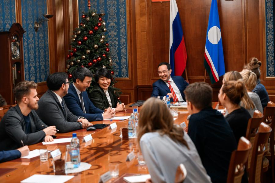 Глава Якутии высказал пожелания участникам конкурса на лучший проект Парка будущих поколений