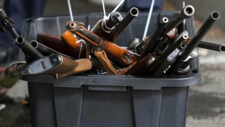 Утверждены размеры вознаграждения за добровольно сданное оружие.