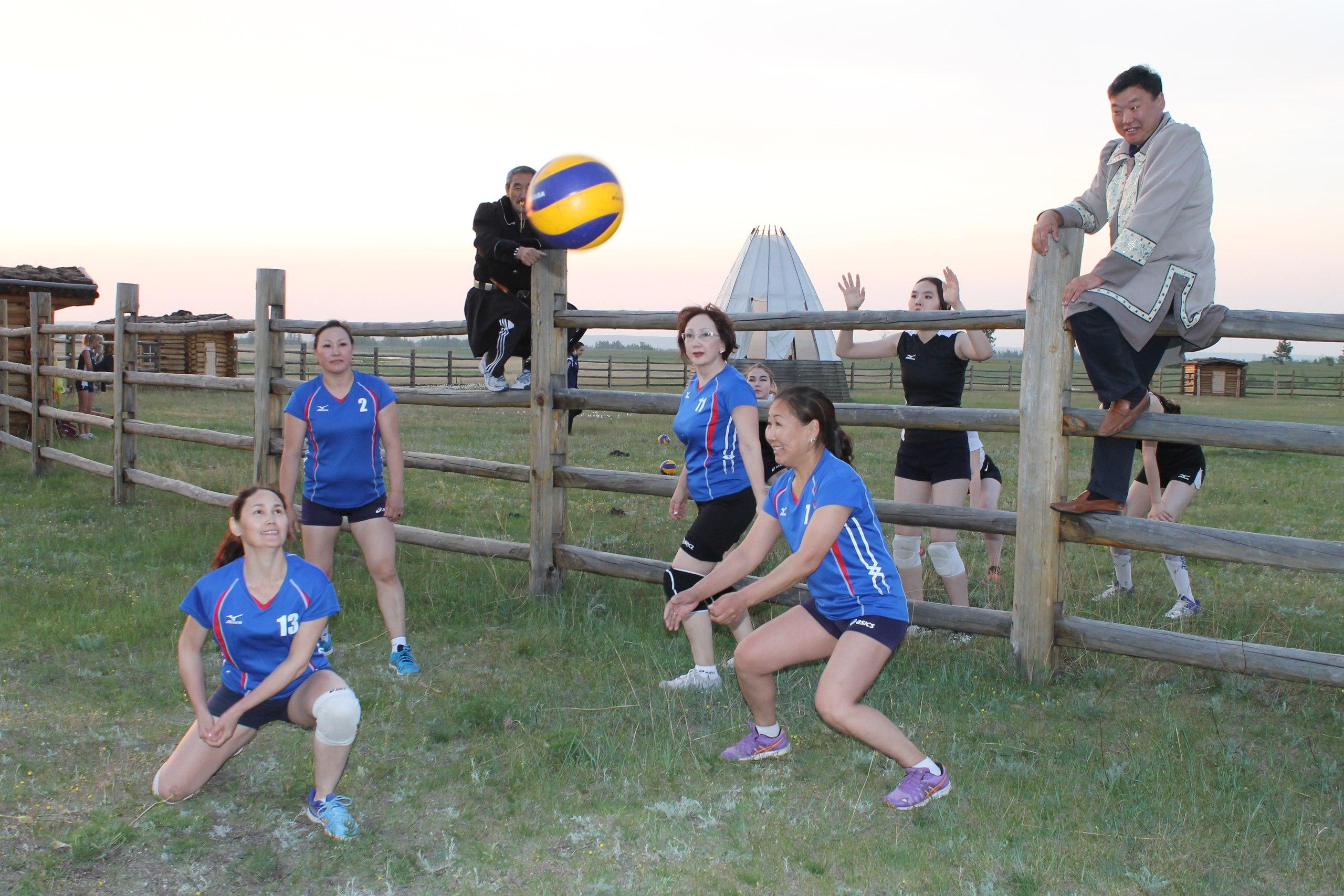 В Горном районе пройдут Дни якутского волейбола