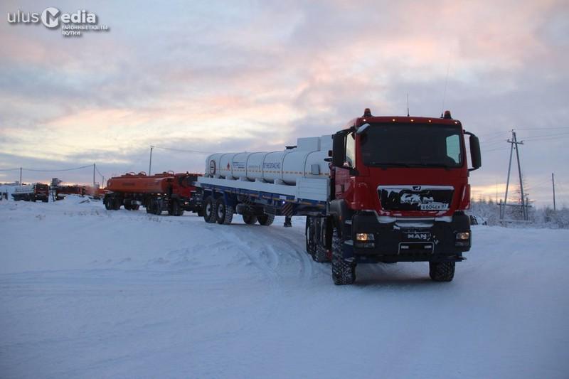 Зимние рекорды Нижнеколымской нефтебазы