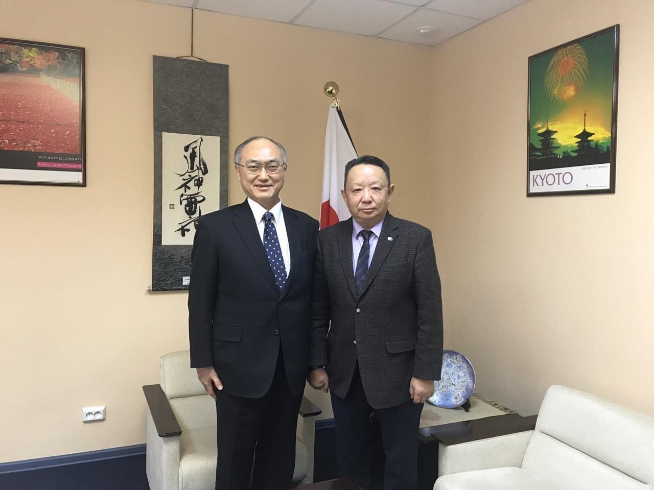 Постпред Якутии встретился с генеральным консулом Японии в Хабаровске