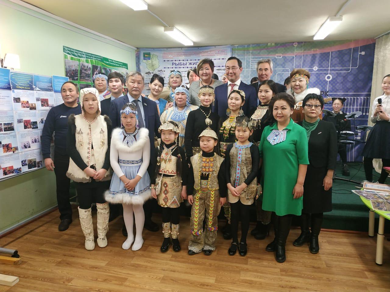Айсен Николаев встречает день рождения в Жиганском районе