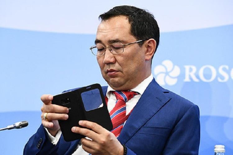 Айсен Николаев назван самым активным в соцсетях губернатором  Дальнего Востока