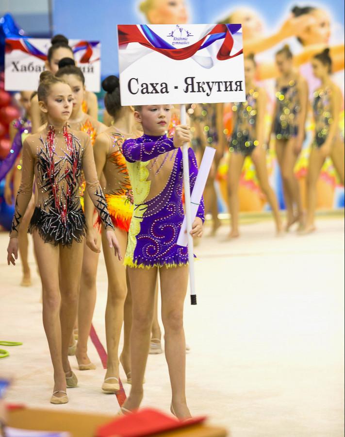 Якутию на первенстве ДФО по художественной гимнастике представляют 16 спортсменок